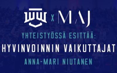 Winter War x MAJ yhdessä esittää: Hyvinvoinnin vaikuttajat – Anna-Mari Niutanen