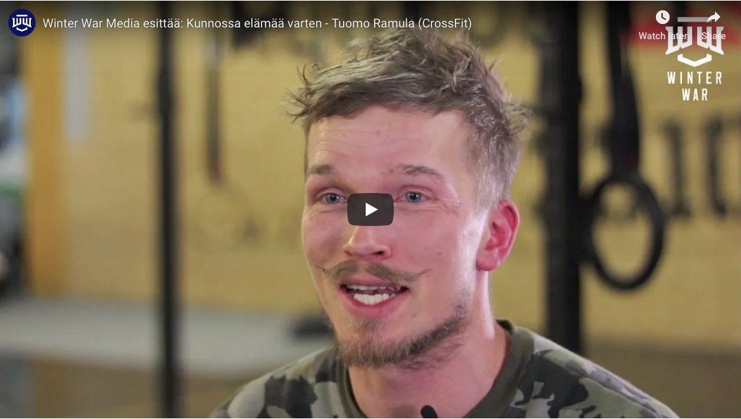 Winter War Media esittää: Kunnossa elämää varten – Tuomo Ramula (CrossFit)